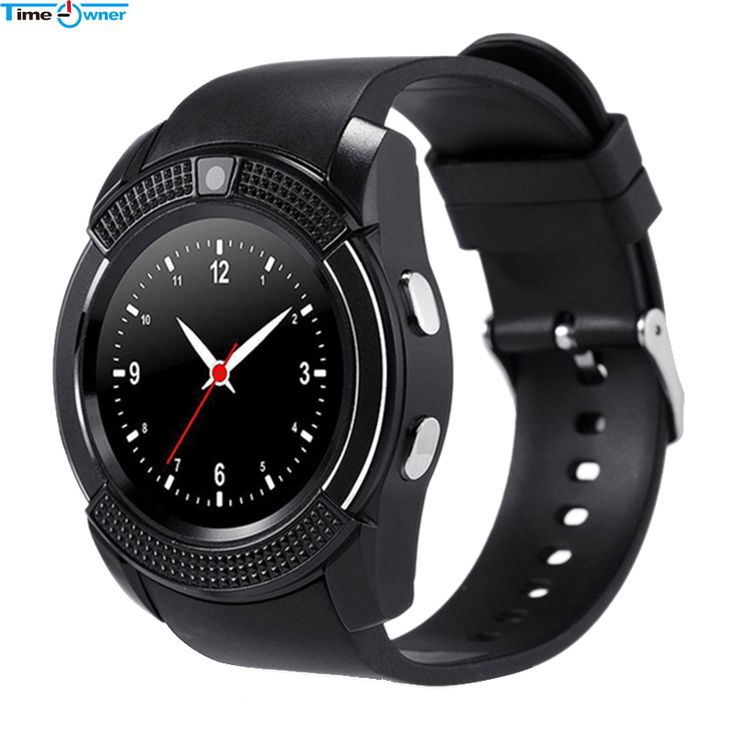 Time Owner V8 Smart Watch Android Watch Phone Clock Support SIM TF Card Bluetooth Notification Alarm Reminder for Samsung Xiaomi //Price: $29.00      #dronestagram