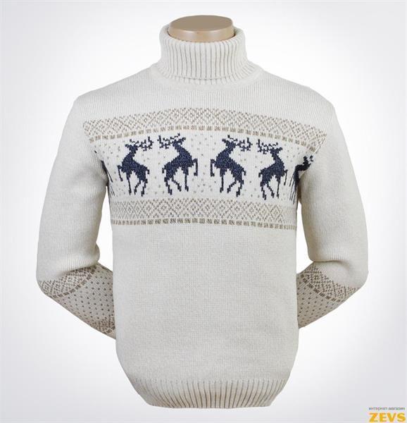 Скандинавские мужские свитеры больших размеров