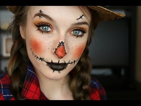 Scarecrow Halloween Makeup 2017 | Jaclyn Hill x Morphe Halloween Tutorial - YouTube
