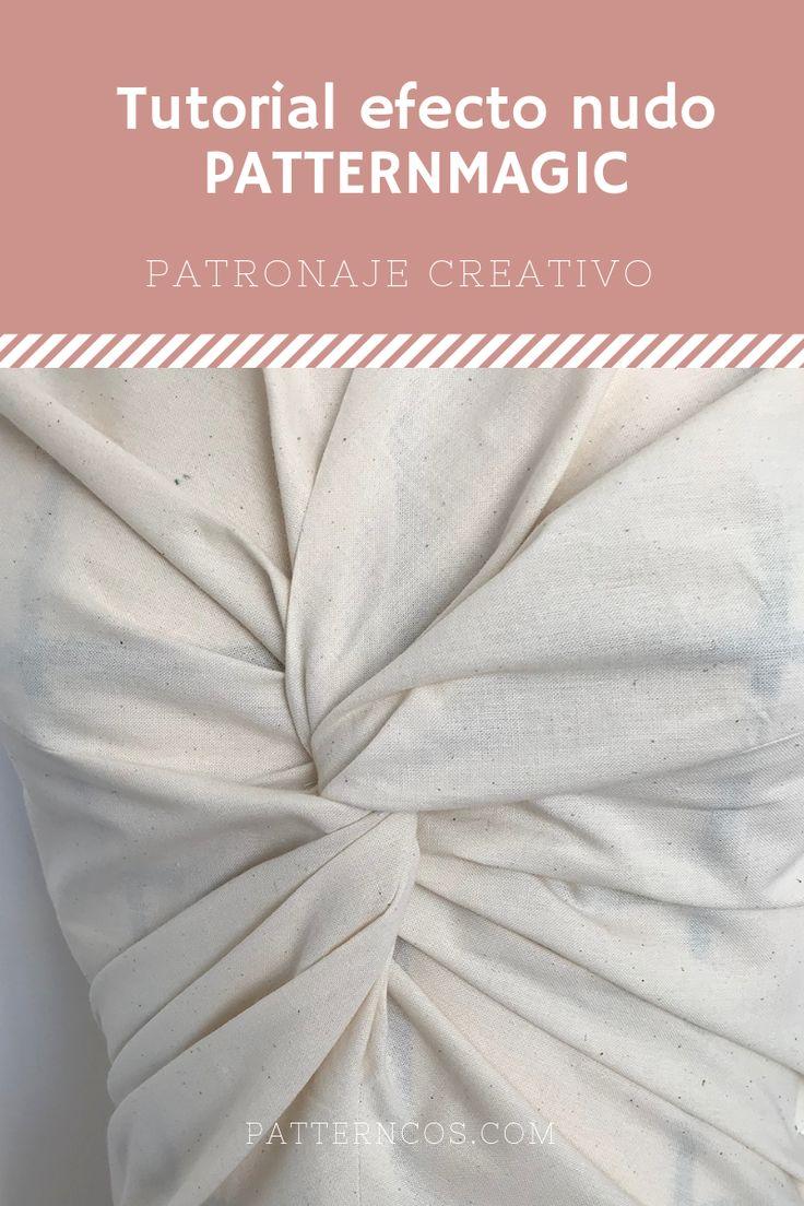 Tutorial efecto nudo drapeado Patternmagic