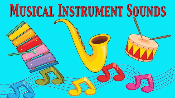 Musical Instruments Sounds For Kids ★ Part 2 ★ learn - school - preschoo...