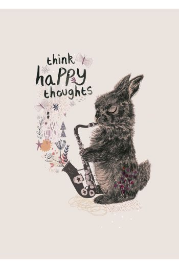 #Limited #edition #poster kinderkamerstylist rosie harbottle NU TE KOOP in NLD!! Think happy thoughts!!