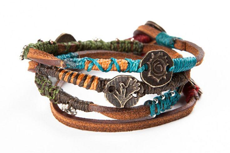 #Wakami Dream Bracelet: Leather from #Guatemala. #FairTrade