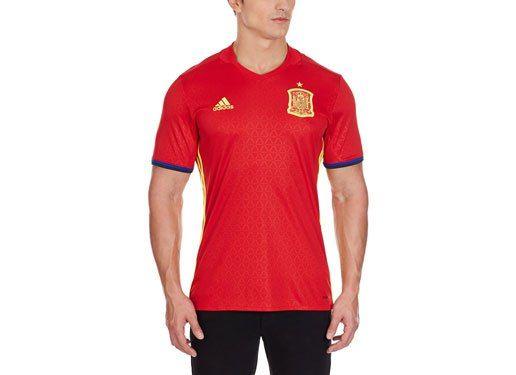 equipación selección española de futbol 2016 replica adidas