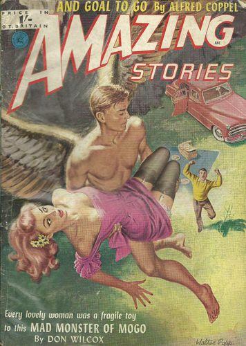 Amazing Stories 19 1950s British Pulp - Art by Walter Popp