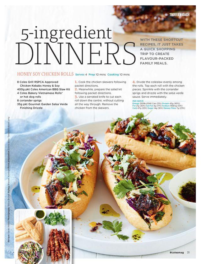 Www Coles Com Au Magazine Create A Recipe Honey Soy Chicken