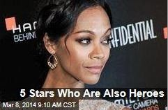Latest News:  5 Stars Who Are Also Heroes.  When Katy Perry helped deliver a baby—in a living room—she joined the ranks of celebrity superheroes. The Stir rounds up eight more. A sampling:  Ryan Gosling: When he saw a tourist who was about to be hit by a taxi in New York City, he grabbed her and pulled her to safety.  Patrick Dempsey: He used a crowbar to pry open the door of a totaled car and pull the teen driver out.  Get all the latest news on your favorite celebs at…