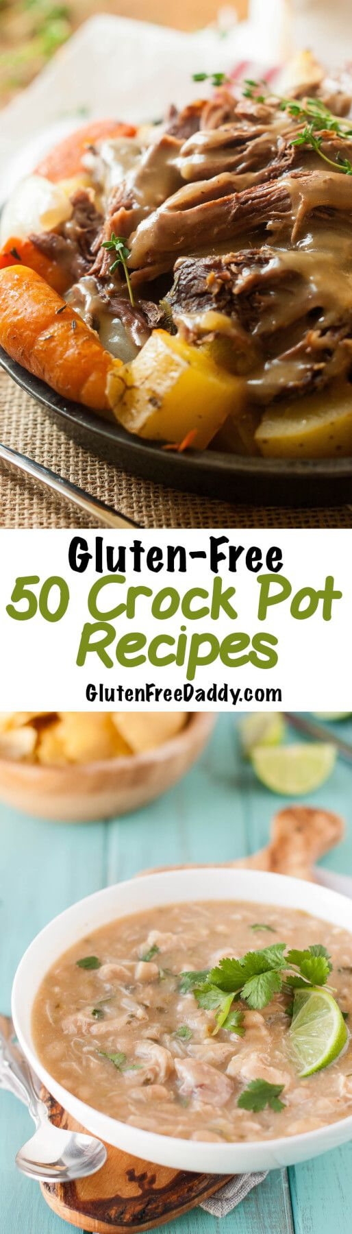 Wow!... can you believe I have a list of fifty, yes 50 gluten-free crock pot recipes! I hope you will check out this list of gluten free crock pot recipes.
