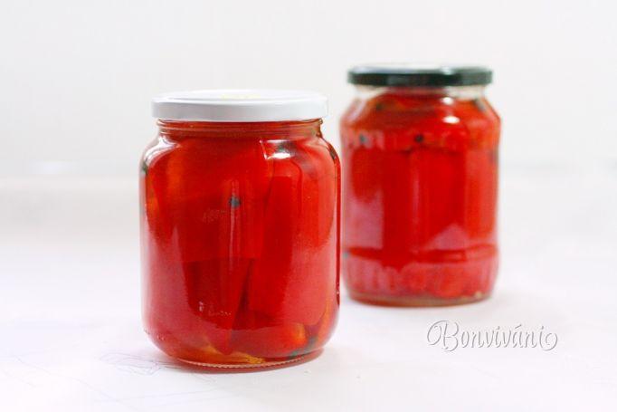 Paprika v oleji