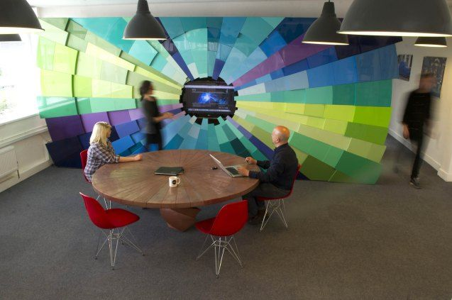 New meeting space at Helix HQ