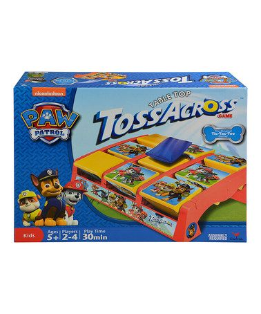 Another great find on #zulily! PAW Patrol Tabletop Toss Across Game #zulilyfinds