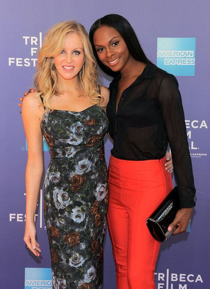 Tika Sumpter Patent Leather Clutch - Tika Sumpter polished off her 2011 Tribeca Film Festival look with a black patent leather clutch.
