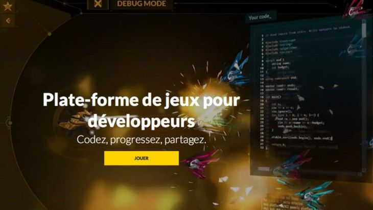 Jeux et apprentissage de la programmation font bon ménage avec CodinGame, une solution en ligne pour apprendre à coder et pour progresser.