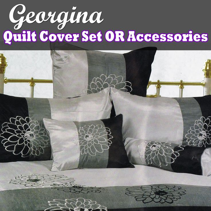 Georgina Quilt Cover Set or Accessories by Phase 2