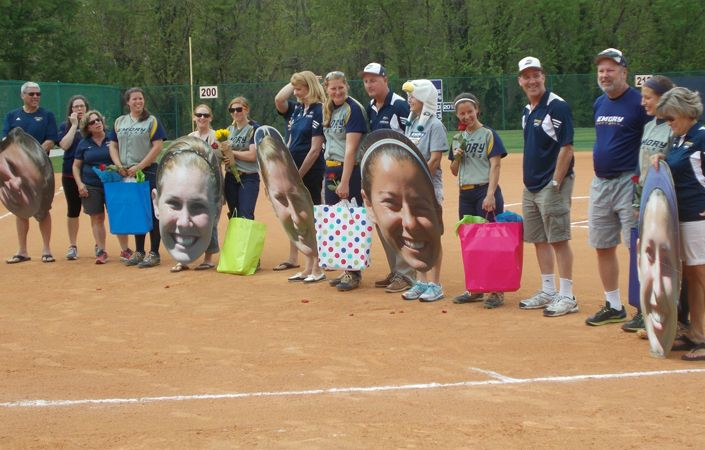 Emory Softball Senior Day Sees Eagles Take Two From Middle Georgia ...