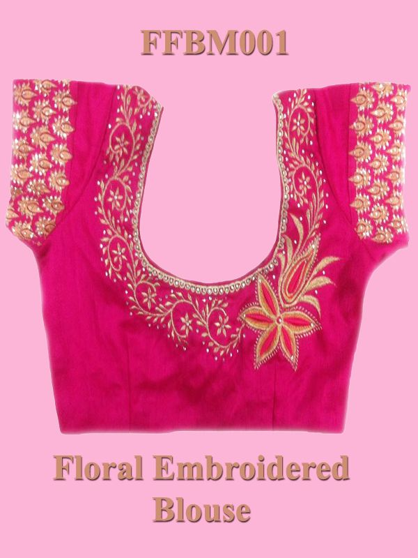 Faamys, Online Store For Clothing, Tailoring and Embroidery,garments Low range sarees,Salwars,Hand Embroidery , Fancy Embroidered Blouse FFBM001