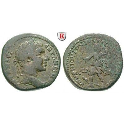 Römische Provinzialprägungen, Thrakien-Donaugebiet, Nikopolis am Istros, Elagabal, Bronze 218-222, ss+: Thrakien-Donaugebiet,… #coins