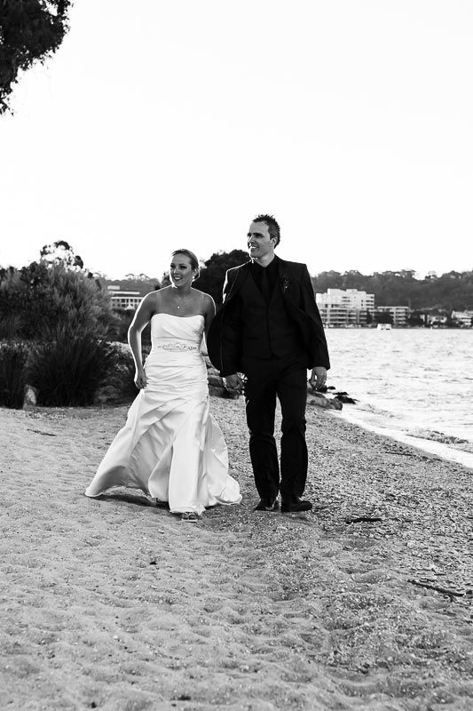 Intimate South Perth Foreshore wedding. Image by Perth wedding photographer Sara Hannagan Photography.
