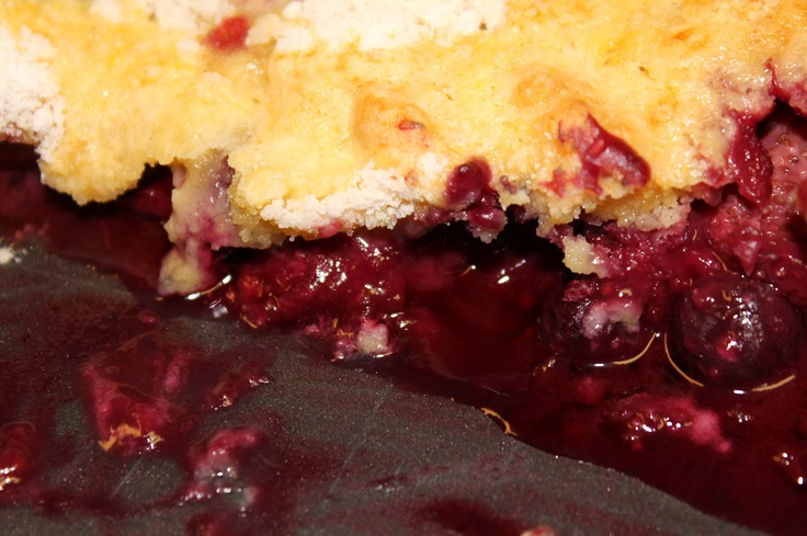 Low Calorie Recipes With Cake Mix: Low Calorie Cobbler- So Easy, Frozen Fruit, Yellow Cake
