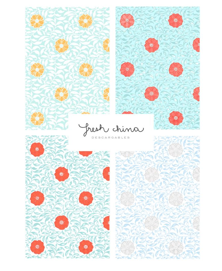 download hi-res summer patterns Meisi http://meisi.es/mis-aplicaciones-favoritas-numbers/