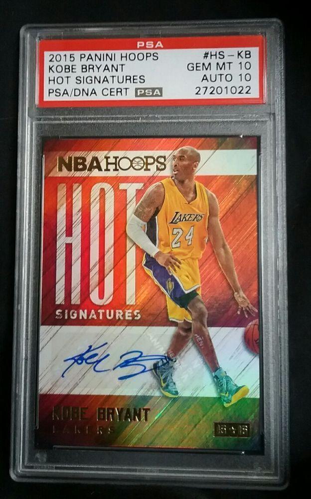 2015 16 Kobe Bryant Hoops Hot Signatures PSA Gem Mint 10 DNA 10 Auto HS-KB Pop 1 | Sports Mem, Cards & Fan Shop, Sports Trading Cards, Basketball Cards | eBay!