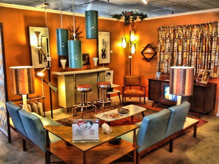119 best Vintage Decor images on Pinterest Vintage decor - retro living room furniture