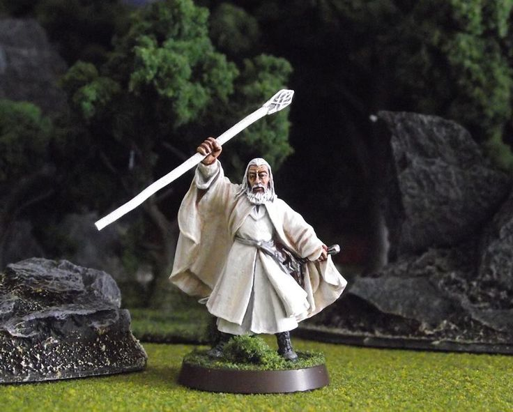 Lord of the Rings Strategy Battle Game | Gandalf White #lotr #warhammer #hobbit #gw #gamesworkshop #wellofeternity #miniatures #wargaming #lord #rings