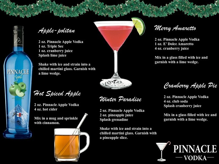 72 best images about pinnacle vodka client on pinterest for Thanksgiving holiday drinks alcohol