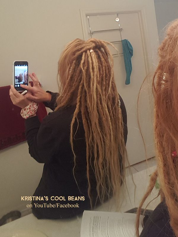 New baby dreads! Middle age dreadlocks Getting dreads, new dreads