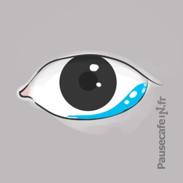 maladie des yeux qui pleurent