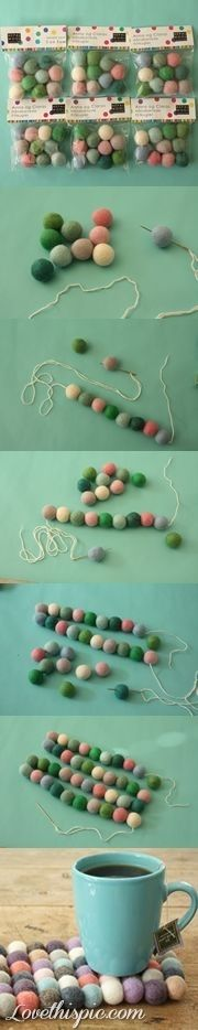 DIY Creative Coaster Beads Pictures, Photos, and Images for Facebook, Tumblr, Pinterest, and Twitter
