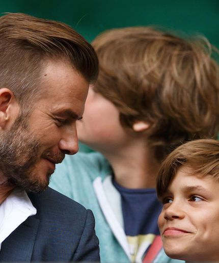 Further proof that David Beckham is an awesome celebrity Dad