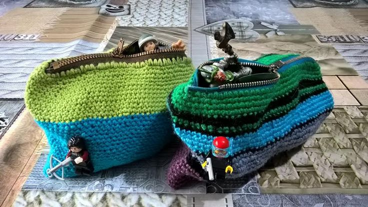 crochet toybags