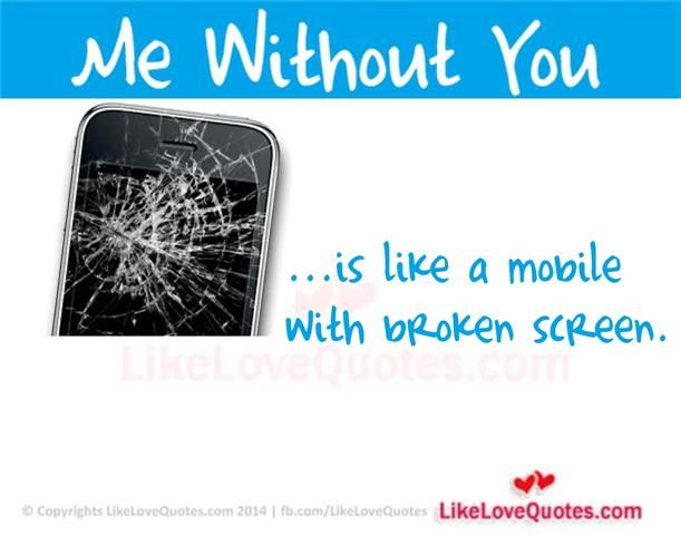 Me Without You is like a mobile with broken screen