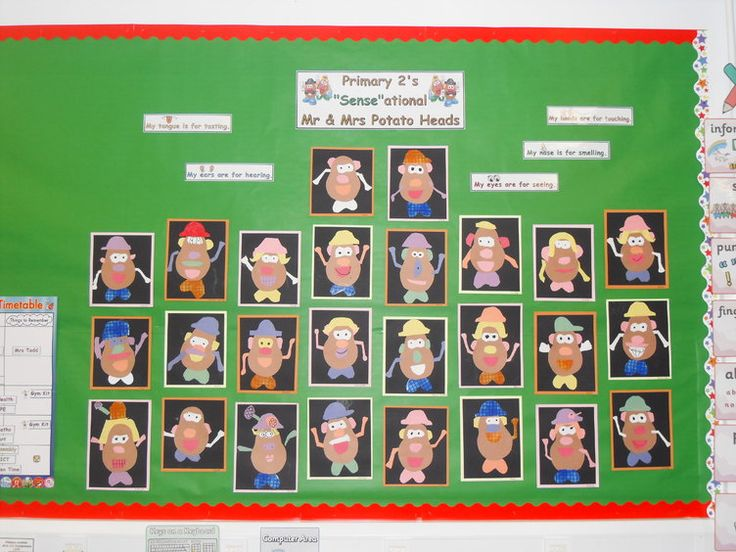 Classroom Management Ideas Ks1 ~ Mr potato head display classroom displays class