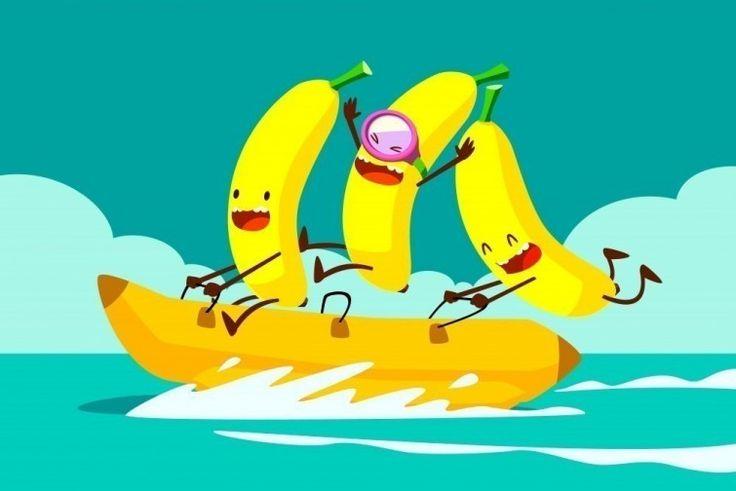 test de frutas - bananos