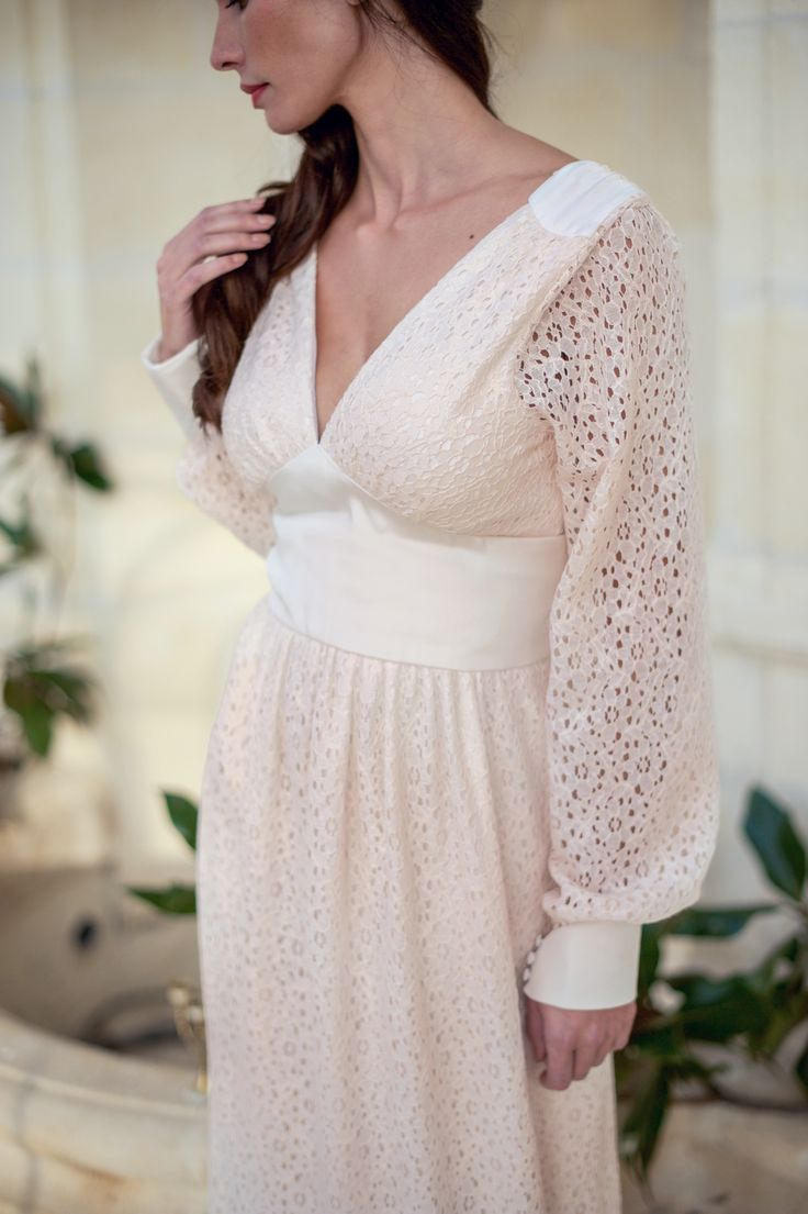 ... Robe Mariée Bohème Chic on Pinterest  Wedding dresses, Robe de and