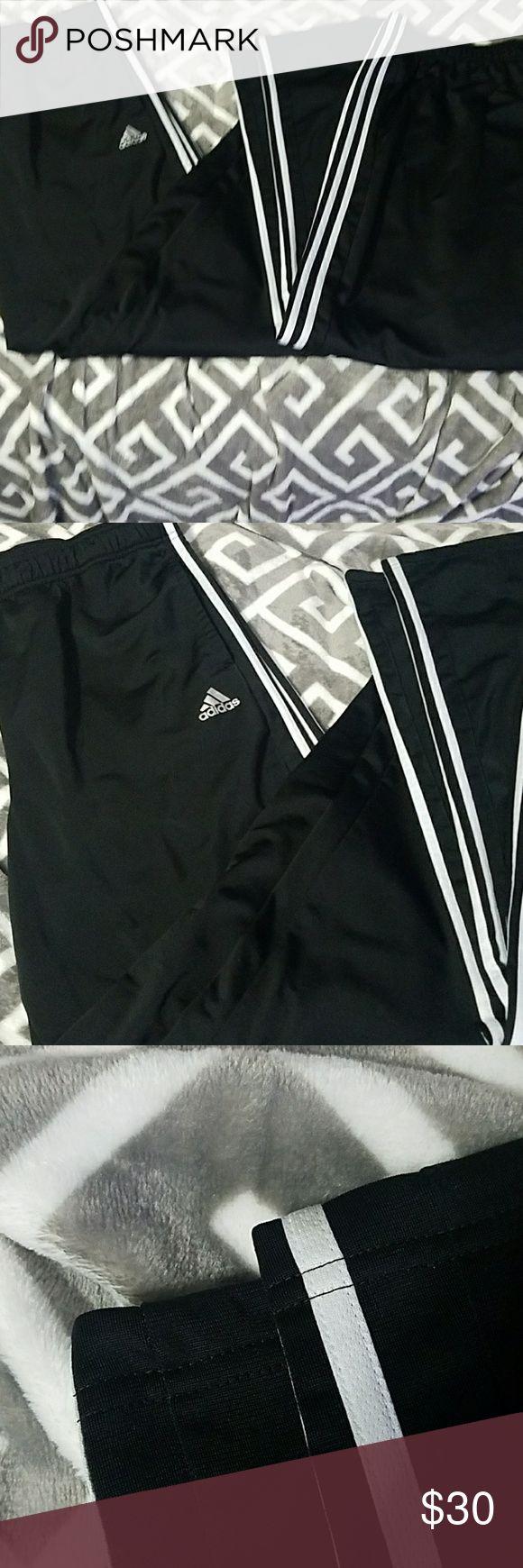 Adidas Men's Athletic Pants  (2 pair) Good used condition - 2 pair bundle Adidas Pants Sweatpants & Joggers
