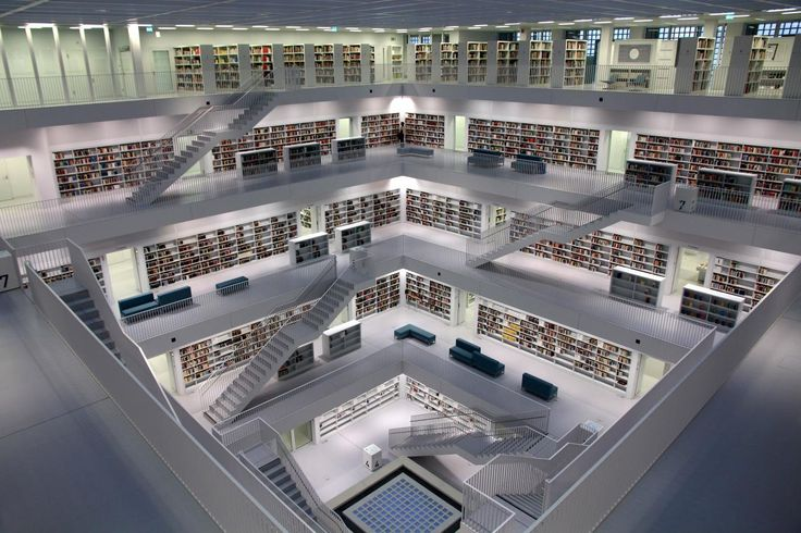 Stuttgart City Library, Stuttgart - Germany