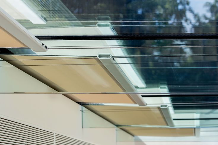 4) Temperature control: Large areas of glass such as glass roofs make a dramatic statement and allow light to flood a property but temperature control can be an issue. Installing specialist blinds allows for the control of any heat build-up on warm, sunny days and equally adds insulation during colder months.