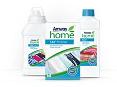 AMWAY HOME™ Laundry  SA8™ laundry products are powerful on stains yet gentle on the most delicate of fabrics. Because they are concentrated, they last and last – and their natural formulas are kind to the skin and leave no irritating detergent residues during the washing process.  Find out more: http://www.thinkgreenfootsteps.com