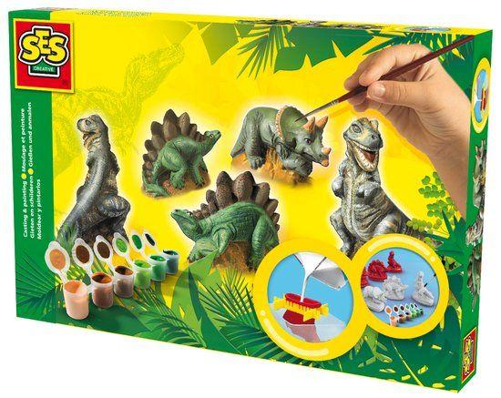 Ses Gips Gieten Dino's - Boetseren