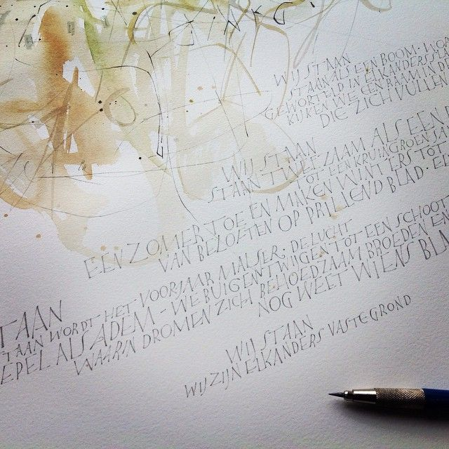 17 Best Images About Calligraphy All Caps On Pinterest