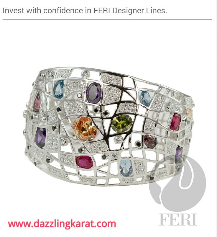Feri Exclusive 950 Silver- Rain & Shine Bracelet