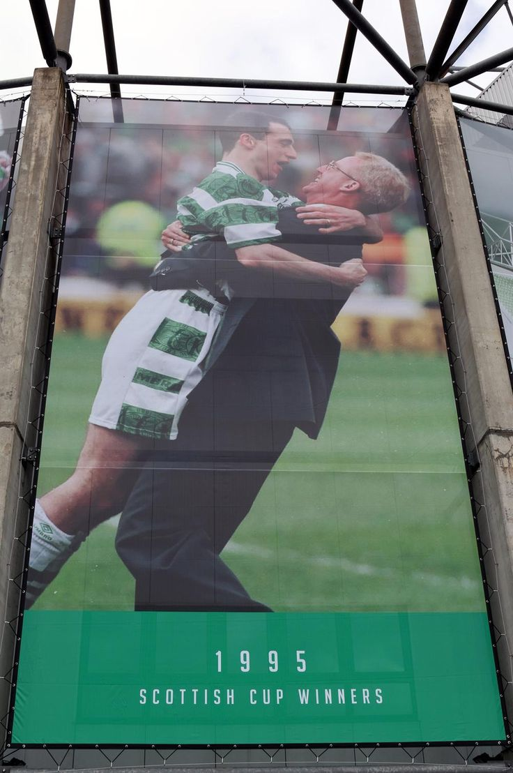 The Next Legendary Moment To Be Displayed At Celtic Park Was Back In 1995 When