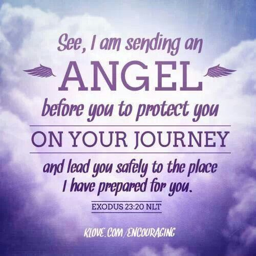 angels assigned to us scripture