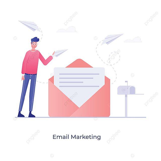 Ilustracao Plana De Promocao Digital De E Mail Marketing O Email Marketing Conteudo Imagem Png E Vetor Para Download Gratuito Ilustracao Plana Marketing Ilustracao