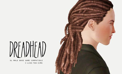 I would like to see these dreads in the Sims 4. If this has already been created please can someone let me know. This is one of the best EA urban hair styles in my humble opinion.  sims 4 hair dreadlocks - Google Search