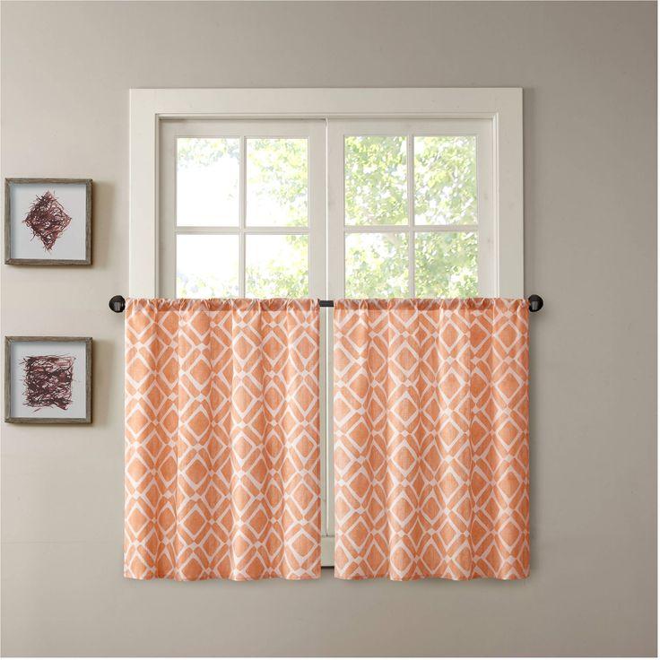 Organic Cotton Kitchen Curtains
