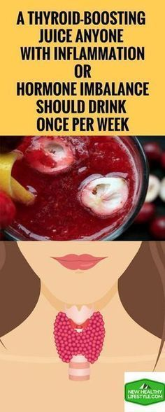 A Thyroid-Boosting Juice Anyone With Inflammation Or Hormone Imbalance Should Drink Once Per Week